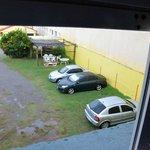 Vista  del estacionamiento ( hab. 14)