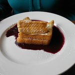 Marionberry stuffed french toast
