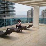 Solarium en terraza