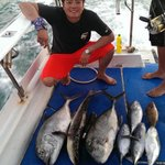 My catches, GT, Cobia, Tuna, grouper