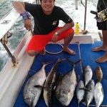 My catches, GT, Cobia, Tuna, grouper