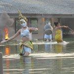 Thai dance show