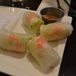 Summer rolls (here with shrimp)