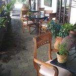 Porch off main reception area