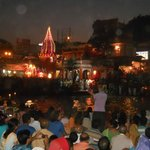 a beautiful evening with ganga arti-haridwar