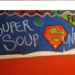 Free soup on Sundays in Winter
