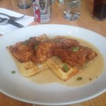 Chicken and Waffles! THE BEST!