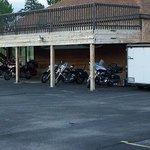 Bike parking was much appreciated!