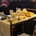 un superbe plateau de fromages