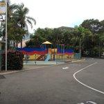 playground near entrance