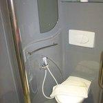 Small and Eccentric Bathroom