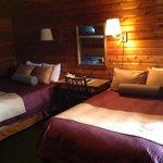 Here is a Cedar Log Room