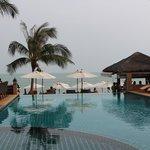 The swimmimg pool