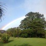 rainbow over sunsethotel