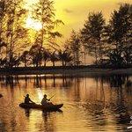 Kayak experience at Soneva Kiri Resort in Thailand