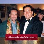 Giovanni with Jose Carreras