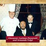 Giovanni with Pavarotti