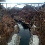 View of bridge from dam