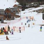 Loser Altaussee ski area for kids