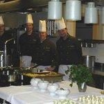Die Crew der guten Küche
