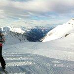 Toppen av Valluga. 2811m