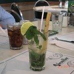 Bebida cubana - muita boa, vale a pena provar.