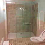 La doccia ultraspaziosa