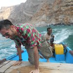 Boat ride to shaoub, dolphin spotting