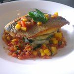 Sea Bream with Mango Salsa