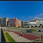 Hotel e o casino local