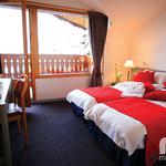 Chalet Hotel Dahu Bedroom