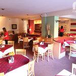 Chalet Hotel Dahu Dining Room