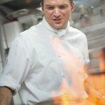 Küchenchef 'in action'