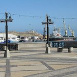 The Luderitz harbor