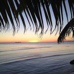 Hatchet Caye sunset