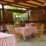 Outdoor seating, Osteria Montellori