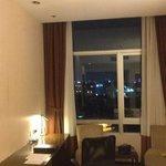 hotelroom at night