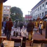 street chess - viwe from restaurant Max