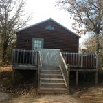 Cabin bigger than photo implies