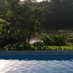 Pool overlooking river