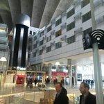 Vista da fachada que da para o Shopping