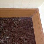 Thick Dust in corner in bedroom