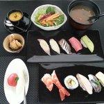 dinner sushi set