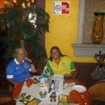 o reconhecimento com a bandeira do Brasil
