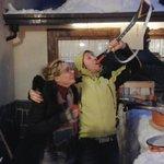 Serata vin-brulé sulla neve