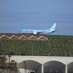 Flughafen aus der Hotelnähe