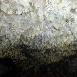 Ceiling in the cavern