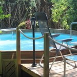 Pool & Decking Area
