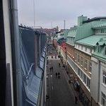 Ausblick vom Balkon