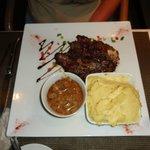 Grilled Flank Steak.